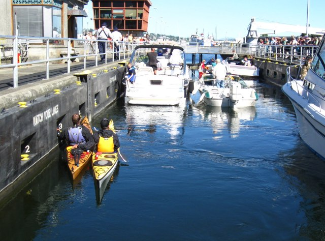 Turismo em Seattle: Ballard Locks.