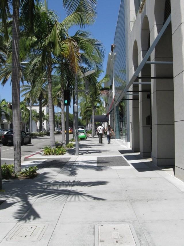 Ruas perfeitas de Beverly Hills