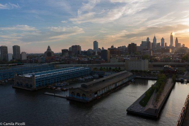 Filadélfia vista da ponte
