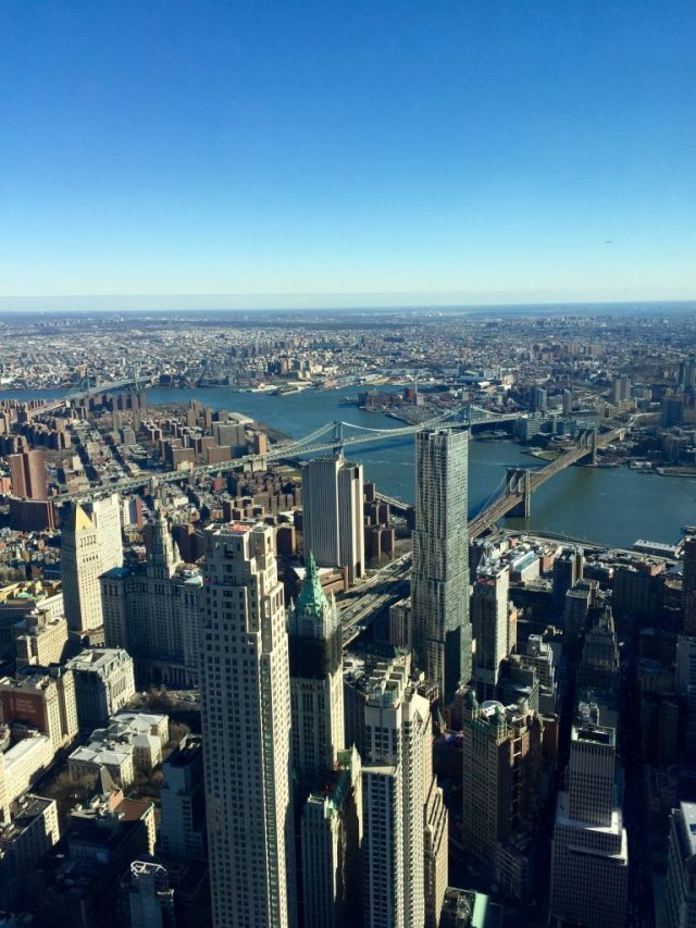 Vista do One World Trade Center