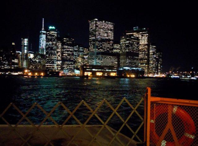 Voltando pra Manhattan - Staten Island Ferry