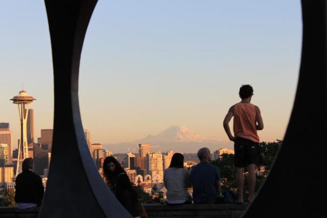 Turismo em Seattle - Kerry Park