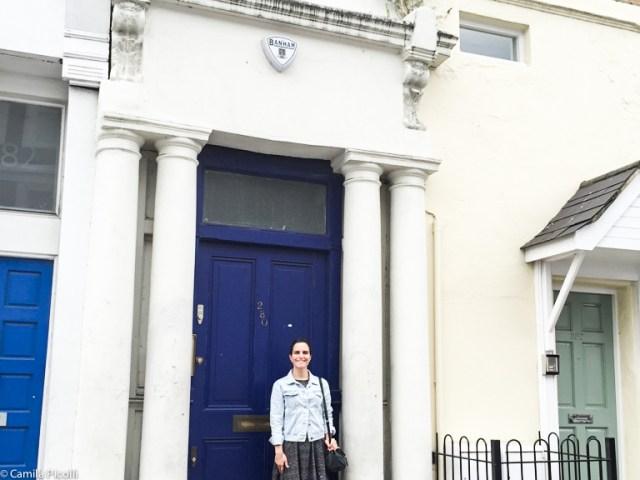 Casa da porta azul - Um Lugar Chamado Notting Hill