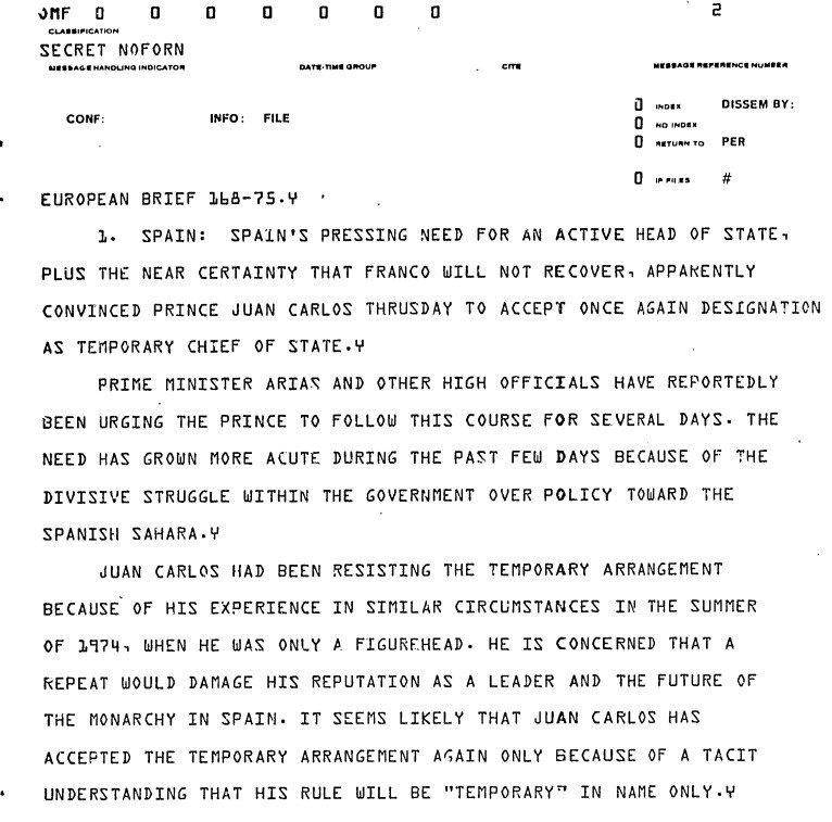 CIA- Spain1975