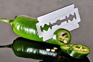 Estabilidade: A faca de dois legumes.