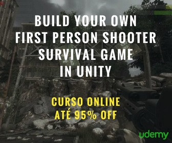 Curso Build Your Own First Person Shooter Survival Game in Unity