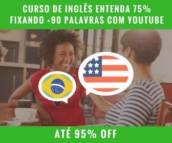 Udemy - Curso de Inglês Entenda 75% Fixando +90 Palavras Com YouTube