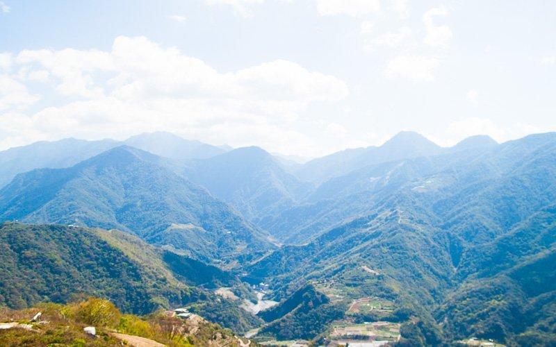 View form Cingjing, Taiwan