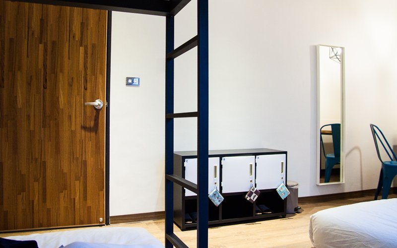 Accommodation tips for solo traveler - Small lockers in Hualien hostel - might be a concern for some?
