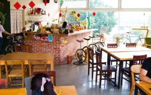 cafe and food at 921 earthquake museum of taiwan