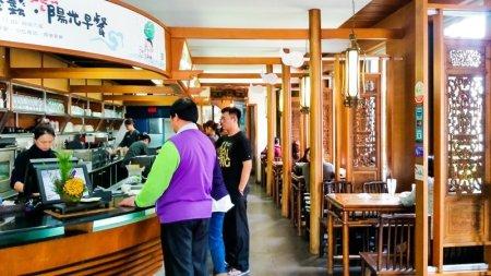 interior wang ji cha pu wang kee teahouse hualien taiwan