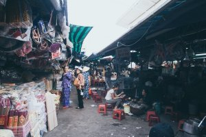 Dong Ba Market Hue Vietnam