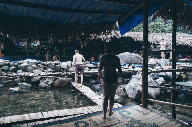 Elephant Waterfall Springs Suol Voi 01 Hue Adventure Motorbike Tour Vietnam Hoi An