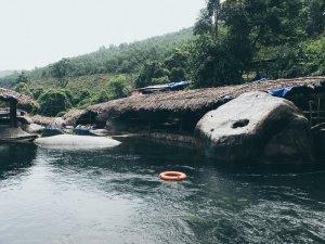 Elephant Waterfall Springs Suol Voi 02 Hue Adventure Motorbike Tour Vietnam Hoi An
