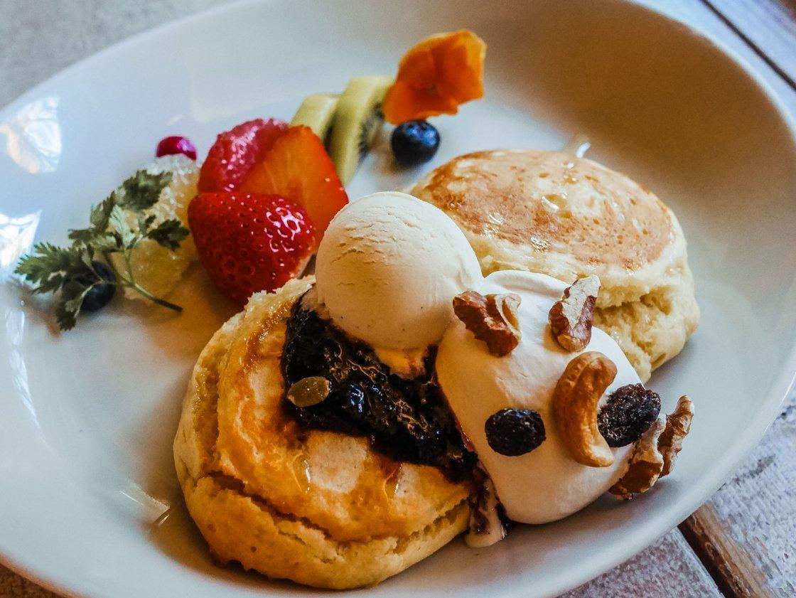 Pancakes, Ain Soph Journey, Tokyo Vegetarian Vegan food