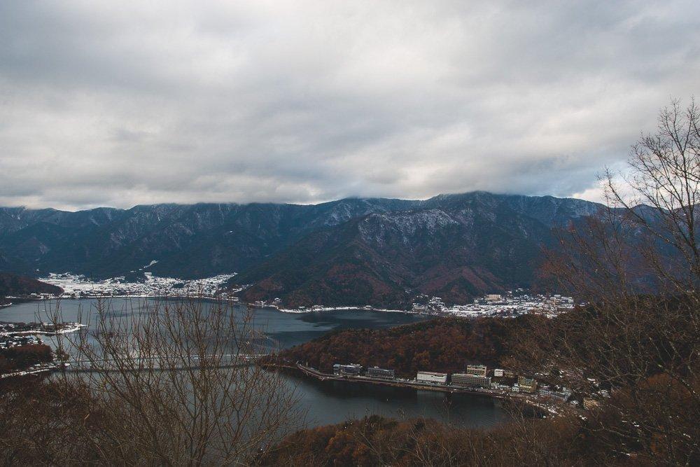 Lake Kawaguchiko in Autumn, Japan