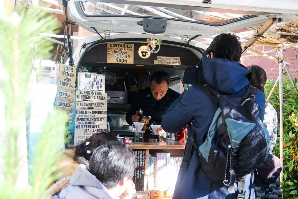 Coffeeshop at Kamakura
