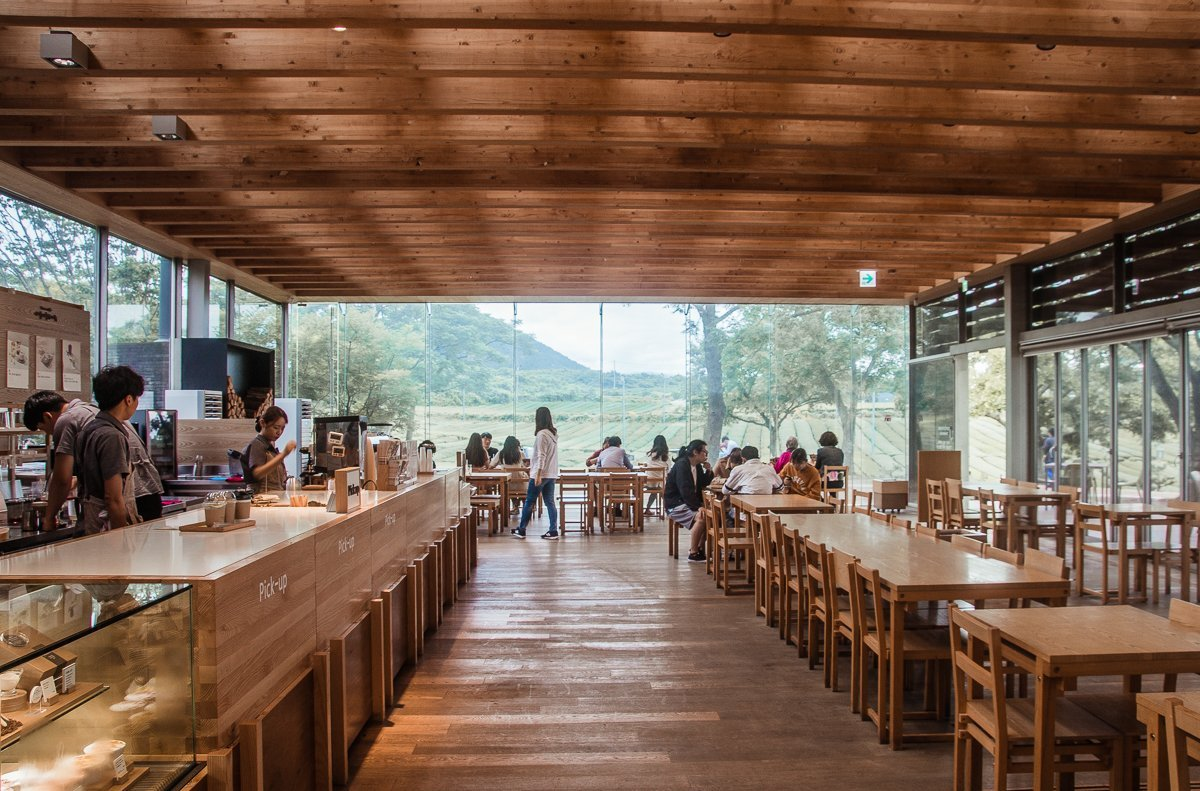 Innisfree Jeju house cafe, 3 day Jeju itinerary