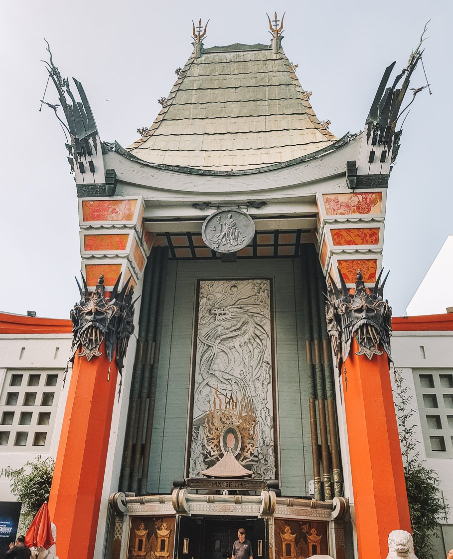 TCL Chinese Theater, LA, 2-week US itinerary with no driving, no car
