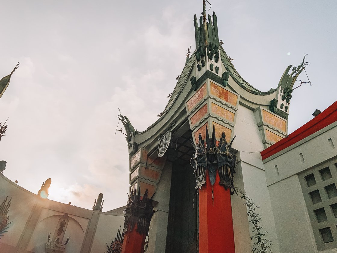 TCL Chinese Theater, LA, 2-week US itinerary, no driving no car