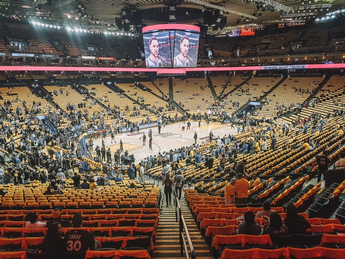 Oracle Arena - NBA Semi Finals 2019 Golden State Warriors vs Rockets, San Francisco, 2-week US itinerary
