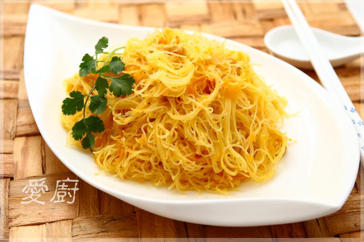 金瓜米粉 from Eupho Café - 愛在廚房