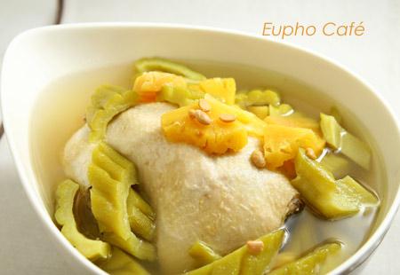 鳳梨苦瓜雞 from Eupho Café - 愛在廚房