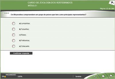 CURSO ONLINE DE ZOOLOGIA DOS VERTEBRADOS