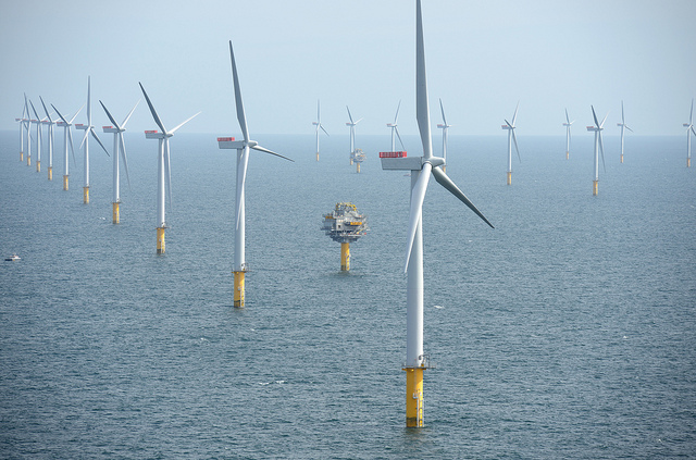 The world's largest offshore wind farm