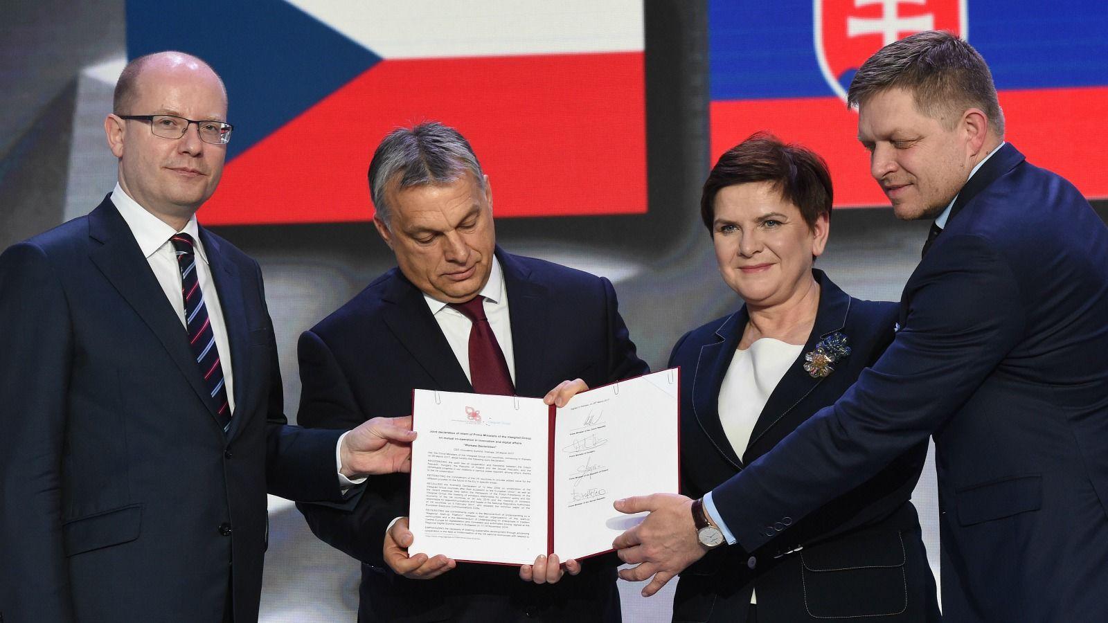 Bildergebnis für Visegrád bloc