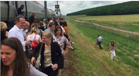 Train Hits Buffers