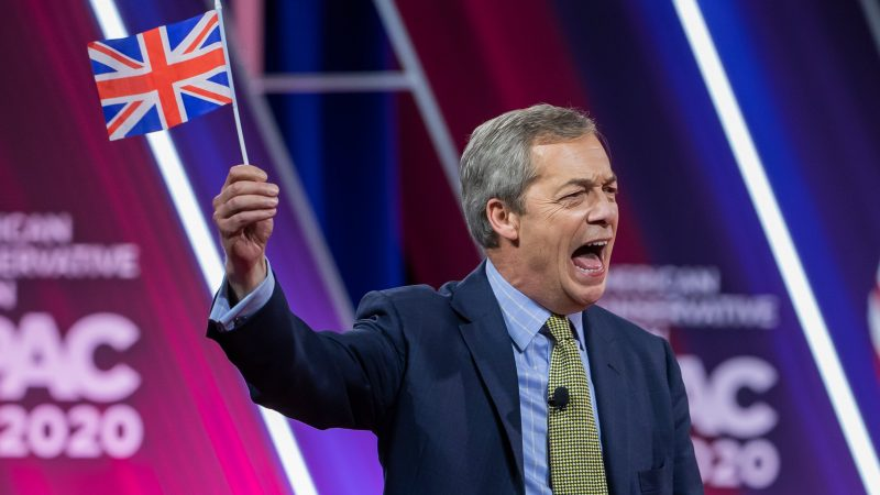 Nigel Farage Set To Relaunch Brexit Party As Anti Lockdown Party Euractiv Com