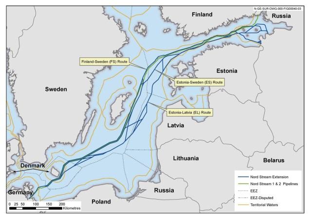 L'Europe centrale fait bloc contre le projet Nord Stream 2 – EURACTIV.fr
