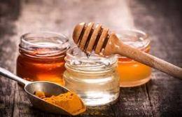 honey, turmeric and lemon
