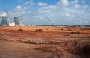 Site clearance for the new units at Vogtle (Image: Southern)