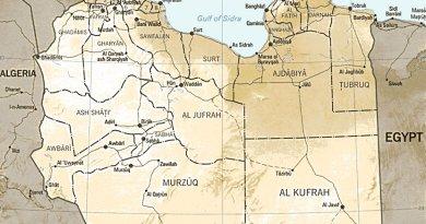 Libya. Source: CIA World Factbook