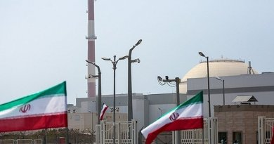 Iran's Bushehr Nuclear Plant. Photo by Hossein Ostovar, Wikimedia Commons.
