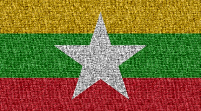 Flag of Burma (Myanmar)