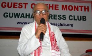 Gandhian social activist Natwar Thakkar