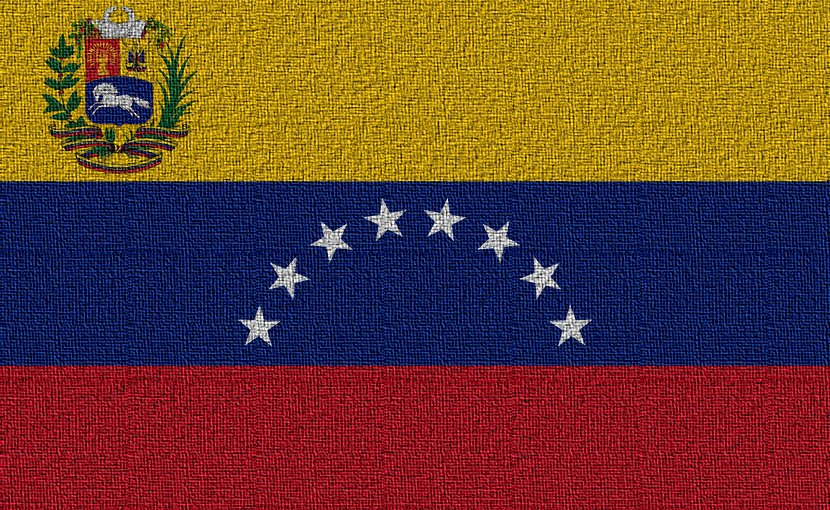 Flag of Venezuela.