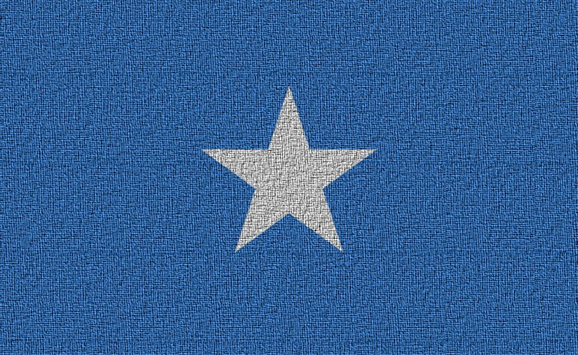 Flag of Somalia.