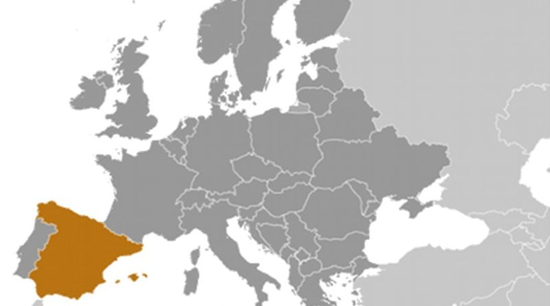 Location of Spain. Source: CIA World Factbook.