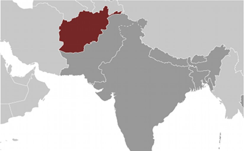 Growing russian involvement in afghanistan analysis eurasia review location of afghanistan source cia world factbook gumiabroncs Images