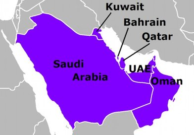 Gulf Cooperation Council (GCC). Source: Wikipedia Commons.