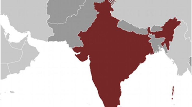 Location of India. Source: CIA World Factbook.