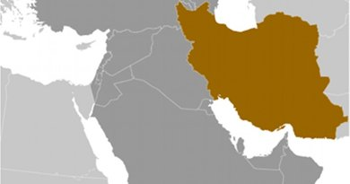 Location of Iran. Source: CIA World Factbook.