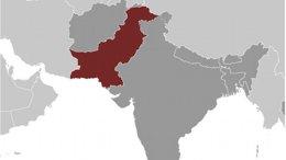 Location of Pakistan. Source: CIA World Factbook.