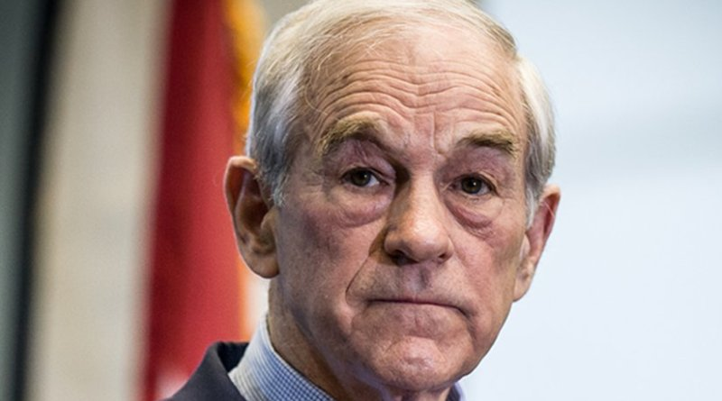 Ron Paul. Photo by David Carlyon, Wikipedia Commons.