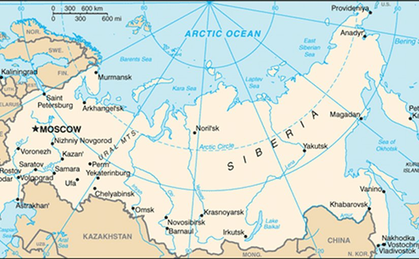Russia. Source: CIA World Factbook.