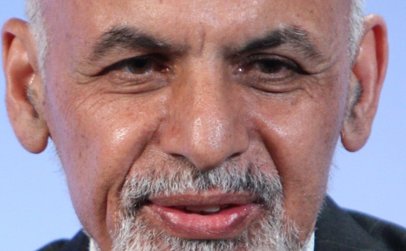 Afghanistan's Mohammad Ashraf Ghani. Photo by Patrick Tsui/FCO, Wikipedia Commons.